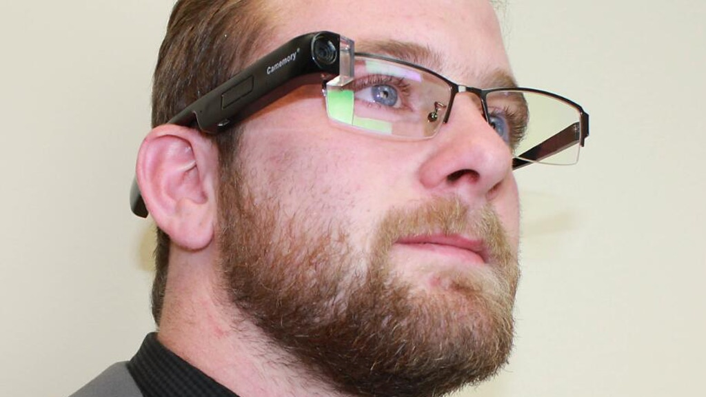 Motion Control Camera Camcorder HD Bluetooth Smart Glasses project video thumbnail