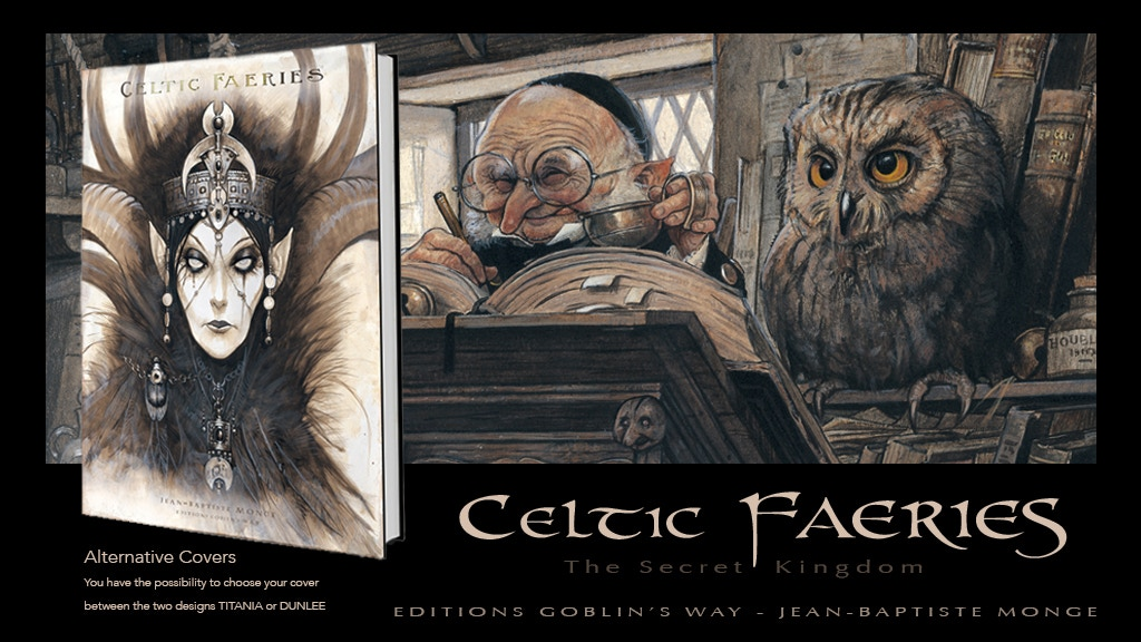 CELTIC FAERIES - Deluxe Edition Book by Jean-Baptiste MONGE project video thumbnail