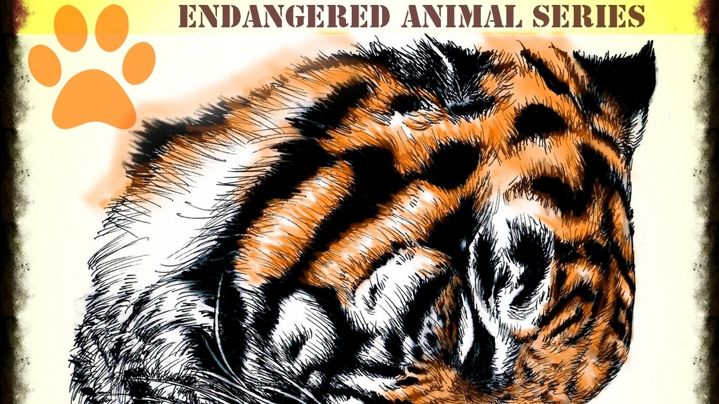 Quot Endangered Quot A Coloring Book Series Of Endangered Species