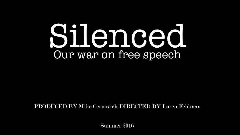 Silenced. Our War On Free Speech project video thumbnail