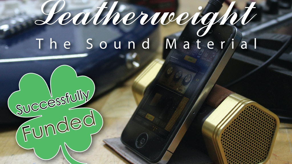 Leatherweight - The Sound Material project video thumbnail