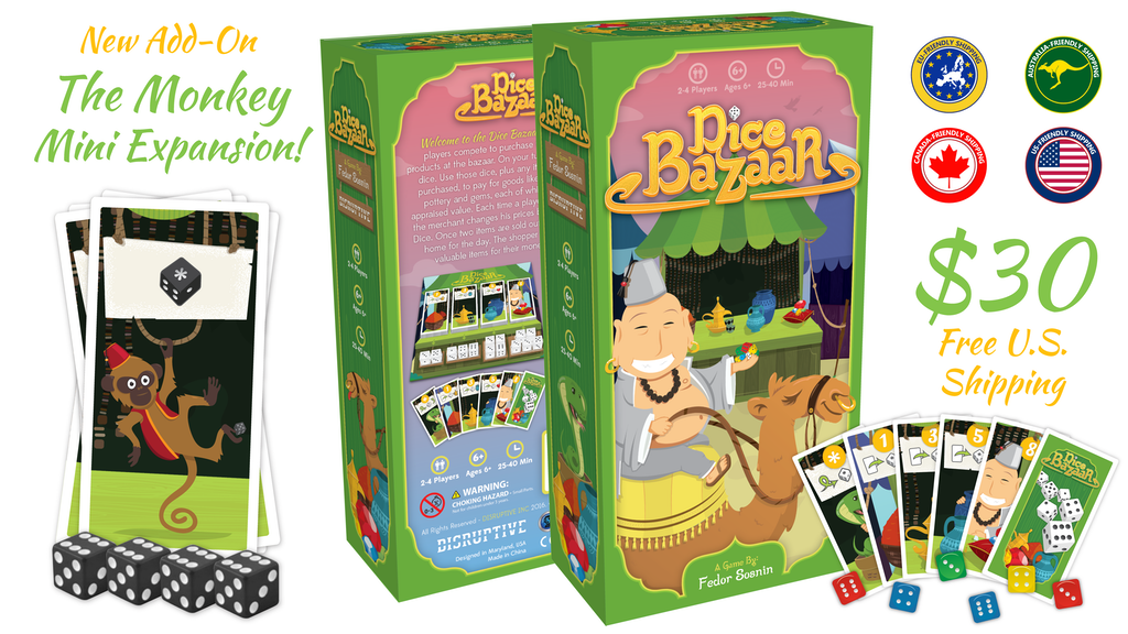 Dice Bazaar - Dice rolling, card trading, family fun project video thumbnail