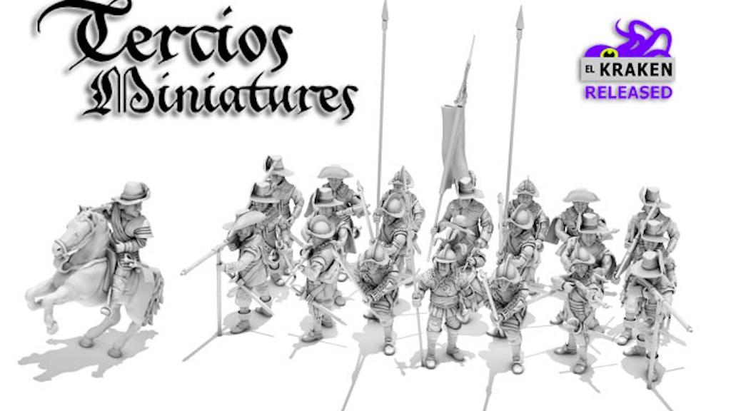 Tercios Miniatures project video thumbnail