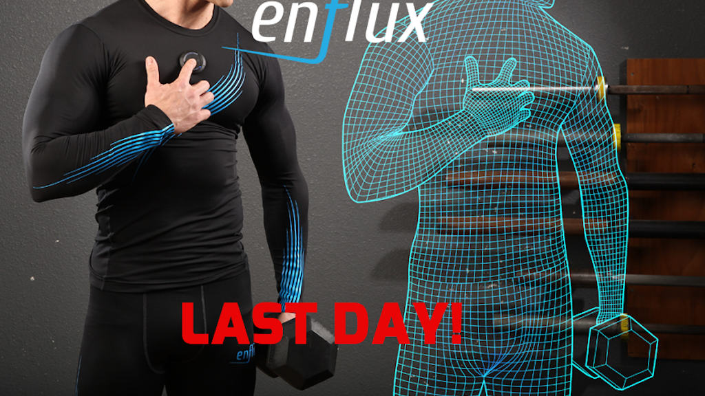 Enflux Exercise Clothing: Real-time 3D Analysis. Better Form project video thumbnail