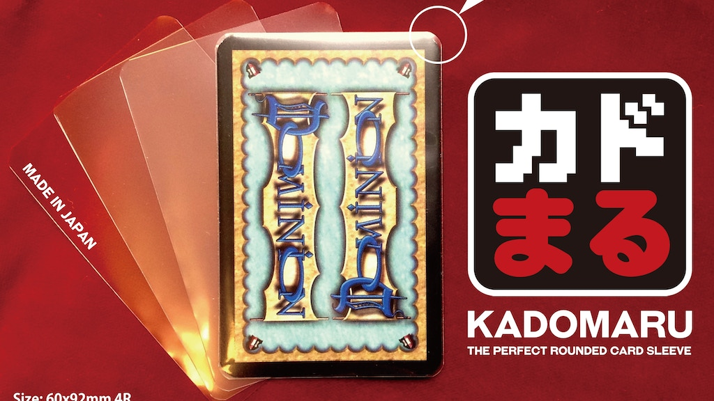 Project image for KADOMARU: The R-Line Card Sleeves