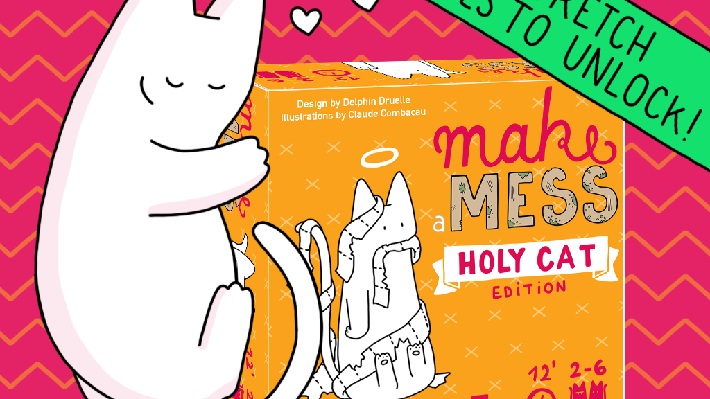 Make a Mess: the board game inspired by the comic Catsass! project video thumbnail