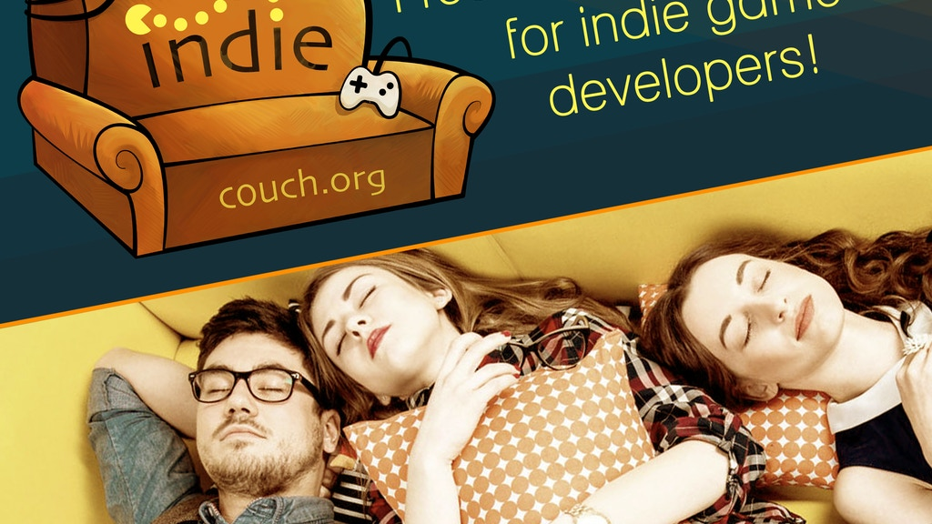indiecouch.org - free accommodation for indie devs! project video thumbnail