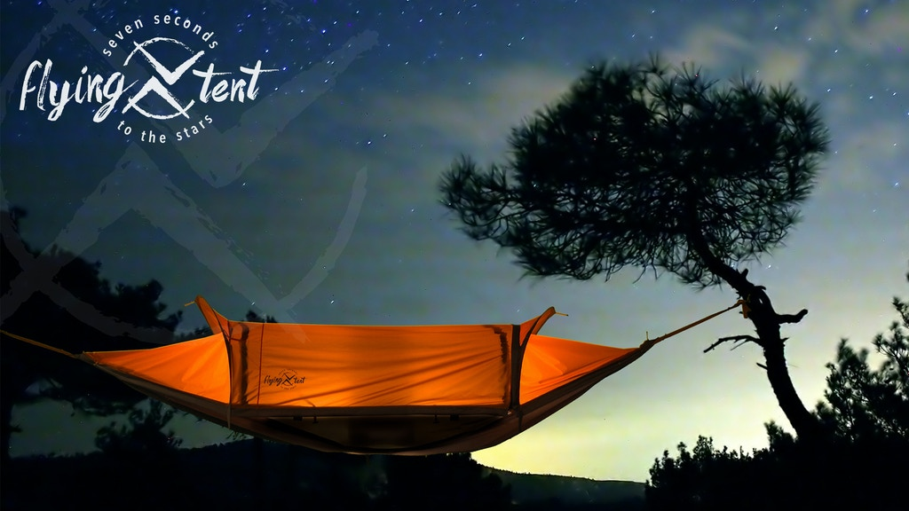 flying tent - 7 seconds to the stars project video thumbnail