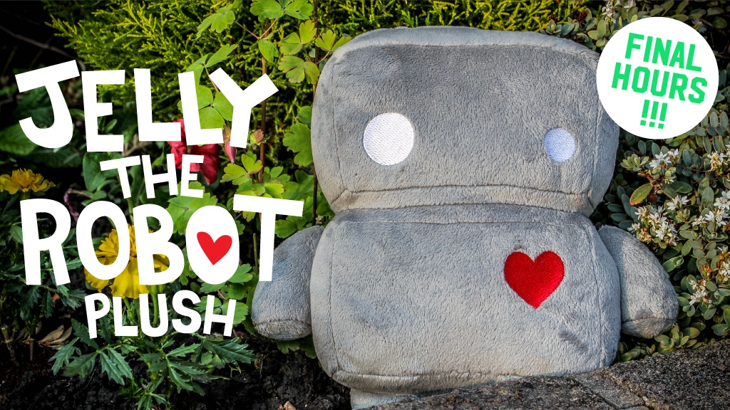 Jelly The Robot Plush project video thumbnail