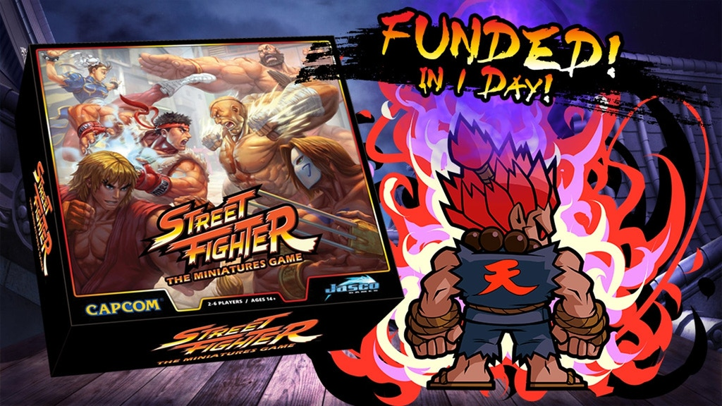 Street Fighter: The Miniatures Game project video thumbnail