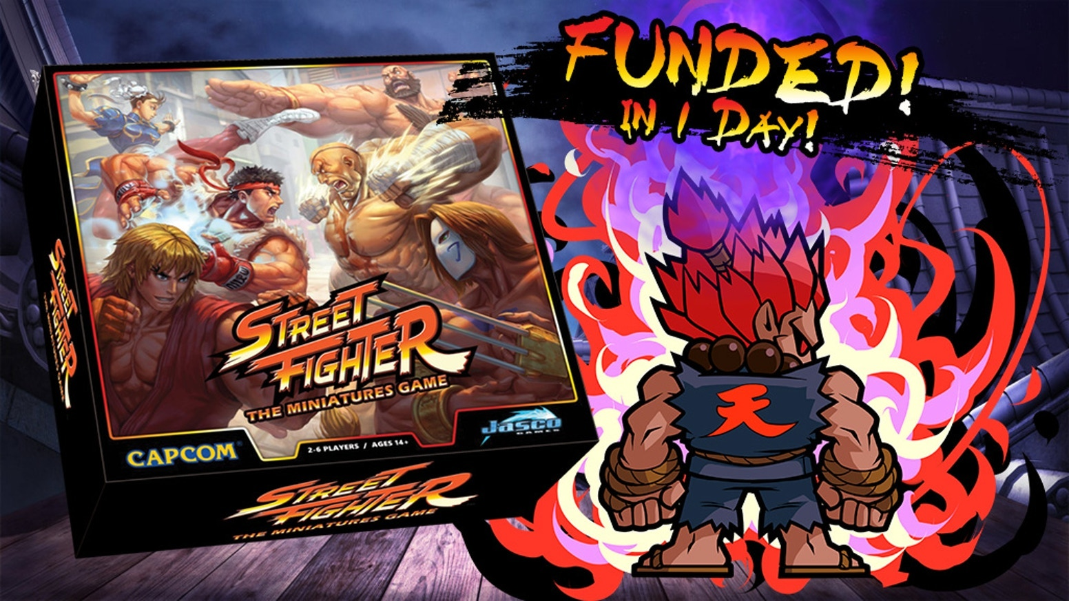 Street Fighter®™: The Miniatures Game is an exciting new high quality pre-painted miniatures game!