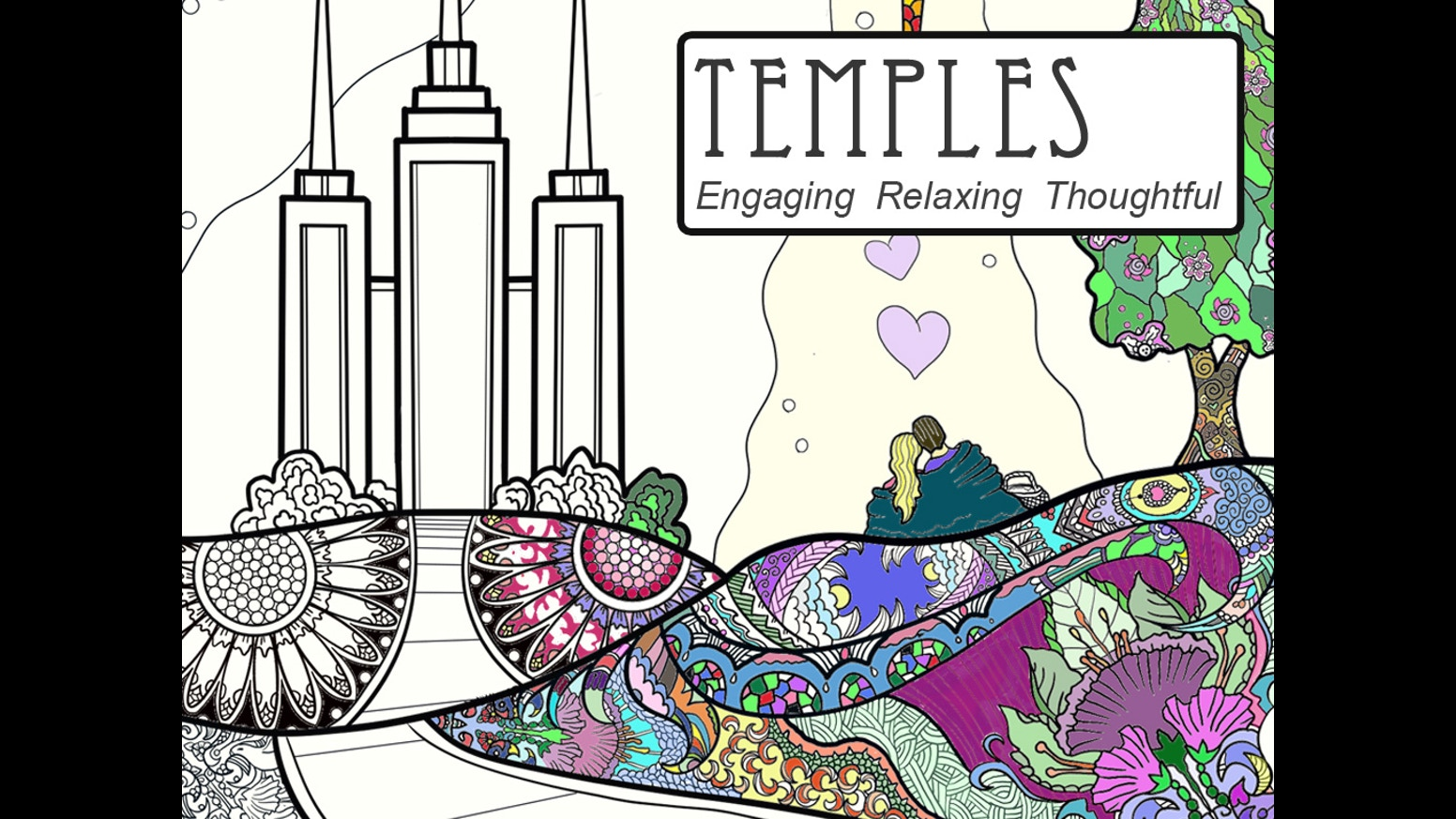 Coloring book html5 - Discover The Symbols And Stories Of Temples As You Color This Beautiful Book Combines Scripture