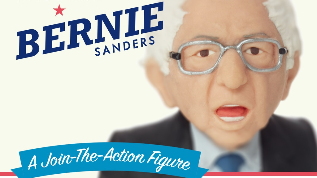 Bernie Sanders Action Figure project video thumbnail