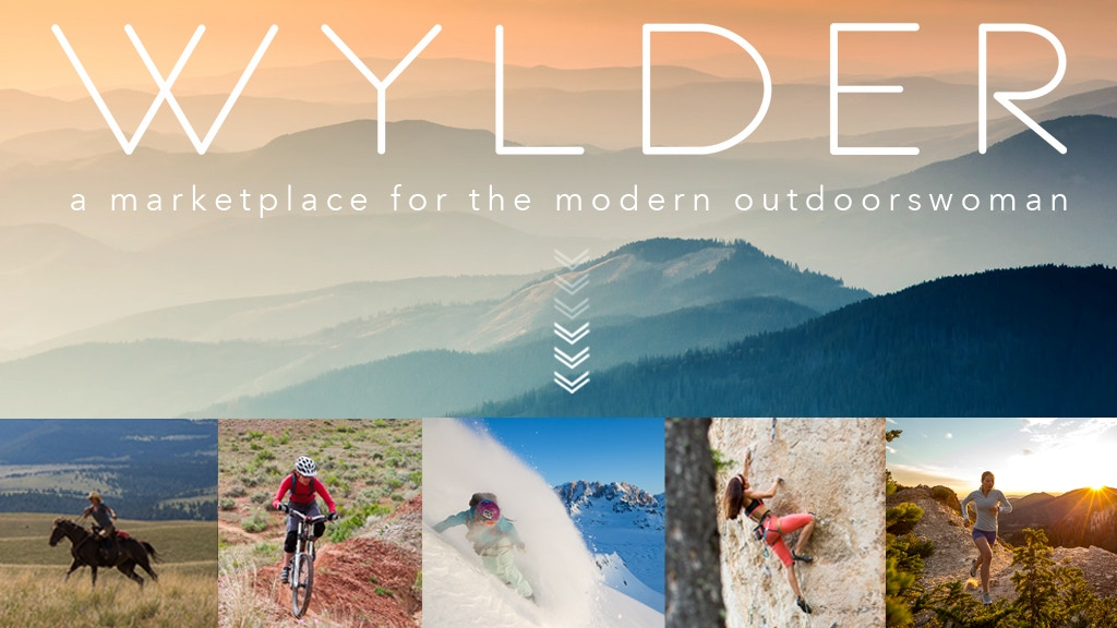 WYLDER: A Marketplace for the Modern Outdoorswoman project video thumbnail