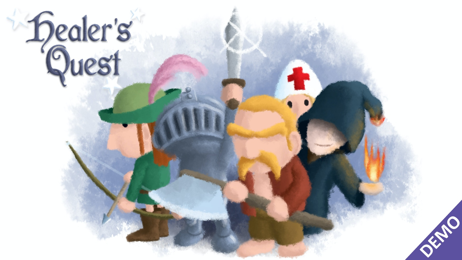 A lighthearted RPG in which you play solely as the healer of a crappy team of adventurers. (PC)