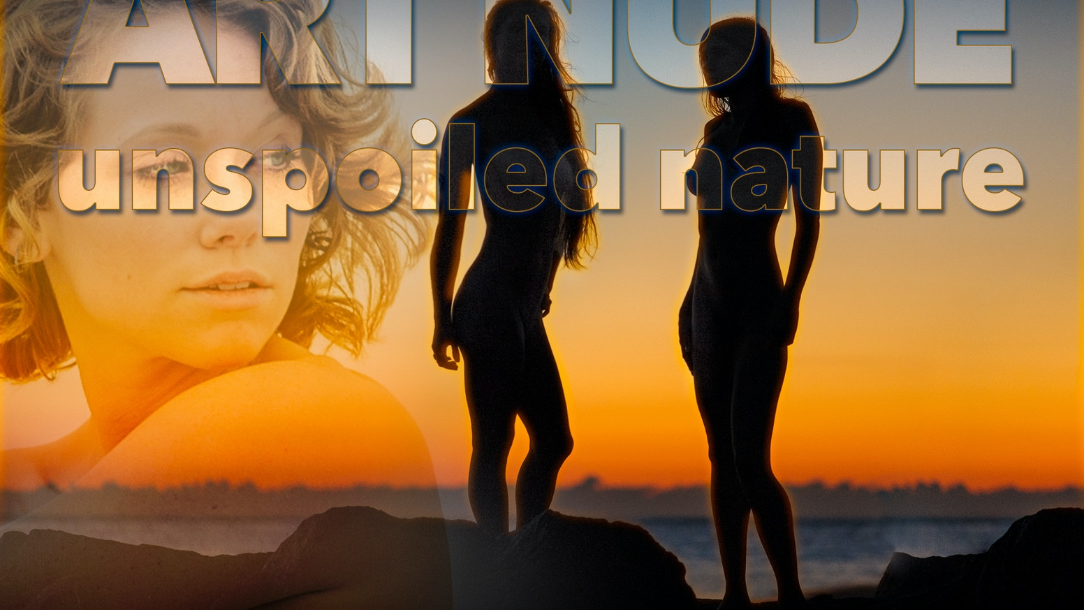 Art Nudes in Pristine Island Landscape: 100+ image autographed photobook, HD documentary, limited edition prints, album, card sets