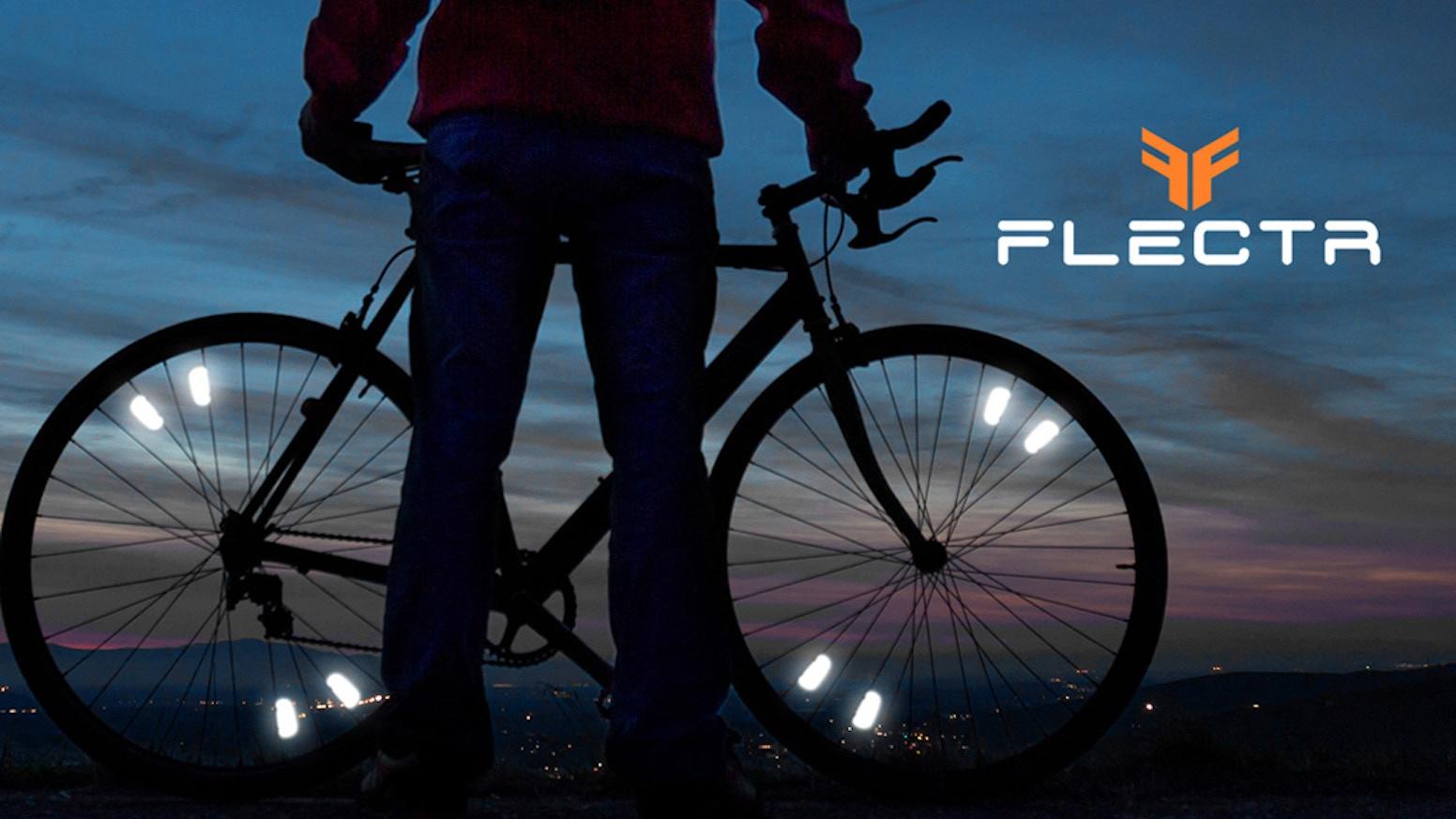 cc6ba1e12f4 FLECTR - Ultra performance wheel reflectors by The Outsider Team —  Kickstarter