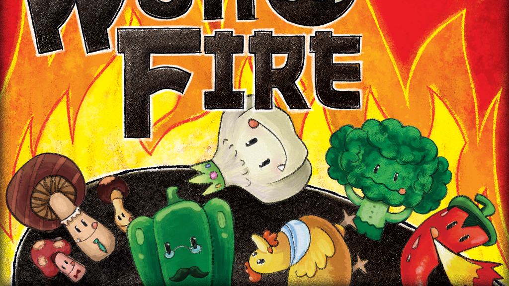 Wok on Fire! A dexterity card game from Green Couch Games! project video thumbnail