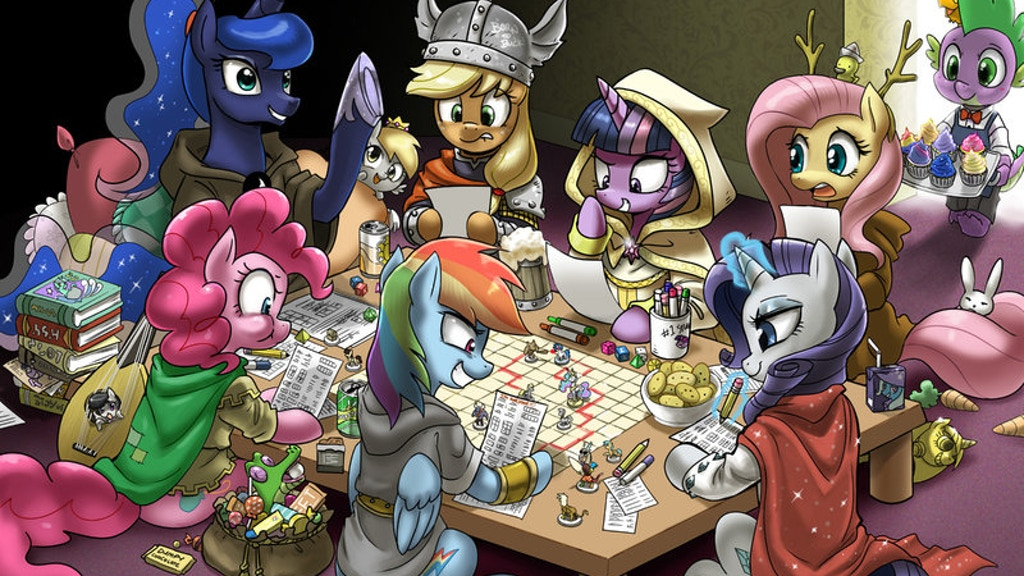 Project image for Pony D&D celebrity charity special. (Canceled)