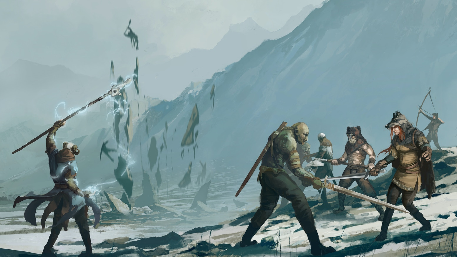 Welcome back to an era of epic adventure in the Ice Kingdoms, an early edition Fantasy Role Playing Game (RPG) setting.