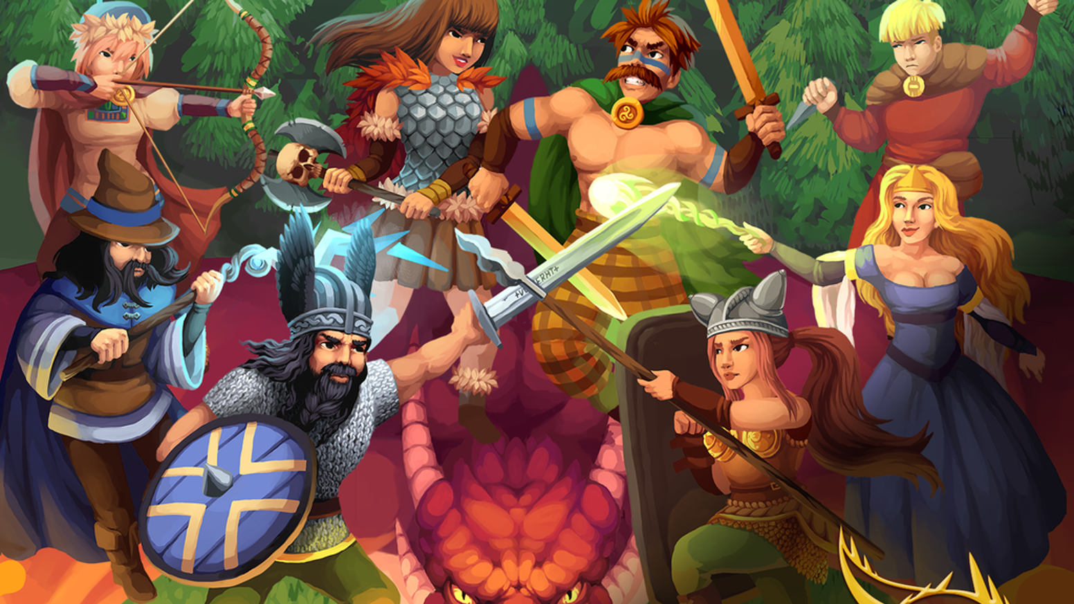 Dragon of Legends - A 2D Online Action RPG by Thrive Games