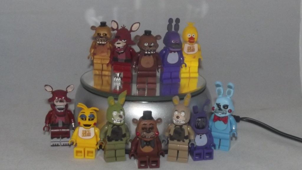 Project image for Custom Lego FNAF Minifigures