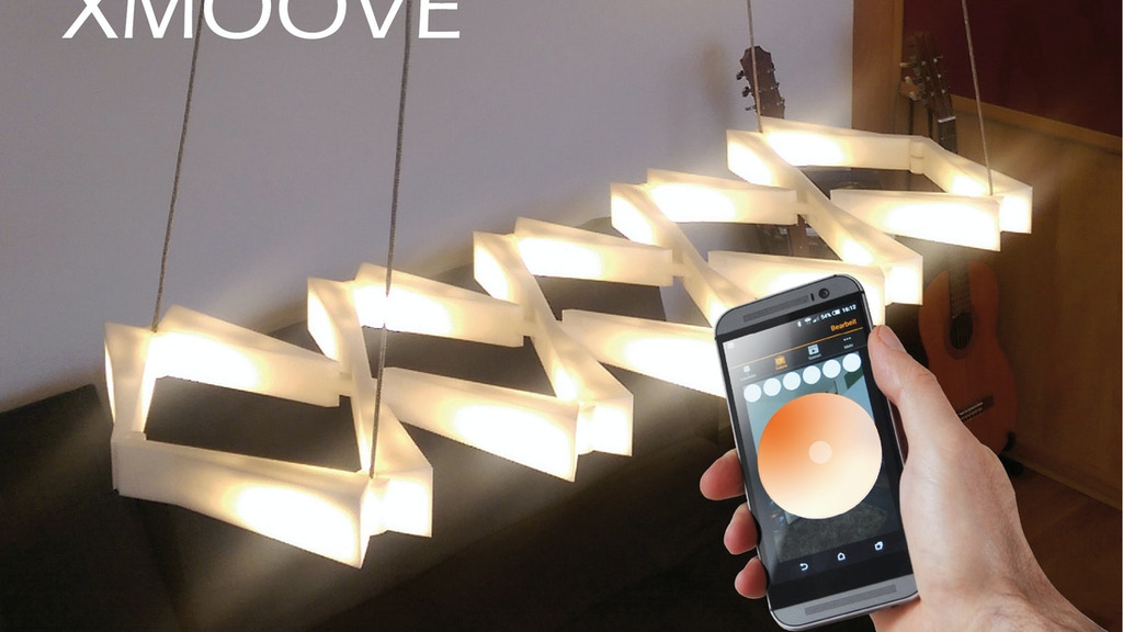 XMOOVE - flexible and smart lamp project video thumbnail