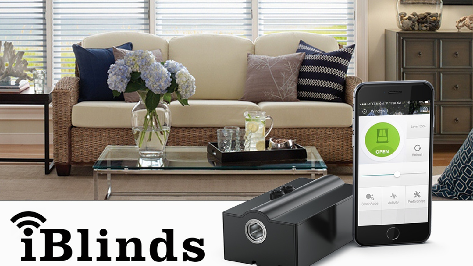 Iblinds Home Automation For Your Window Blinds Z Wave