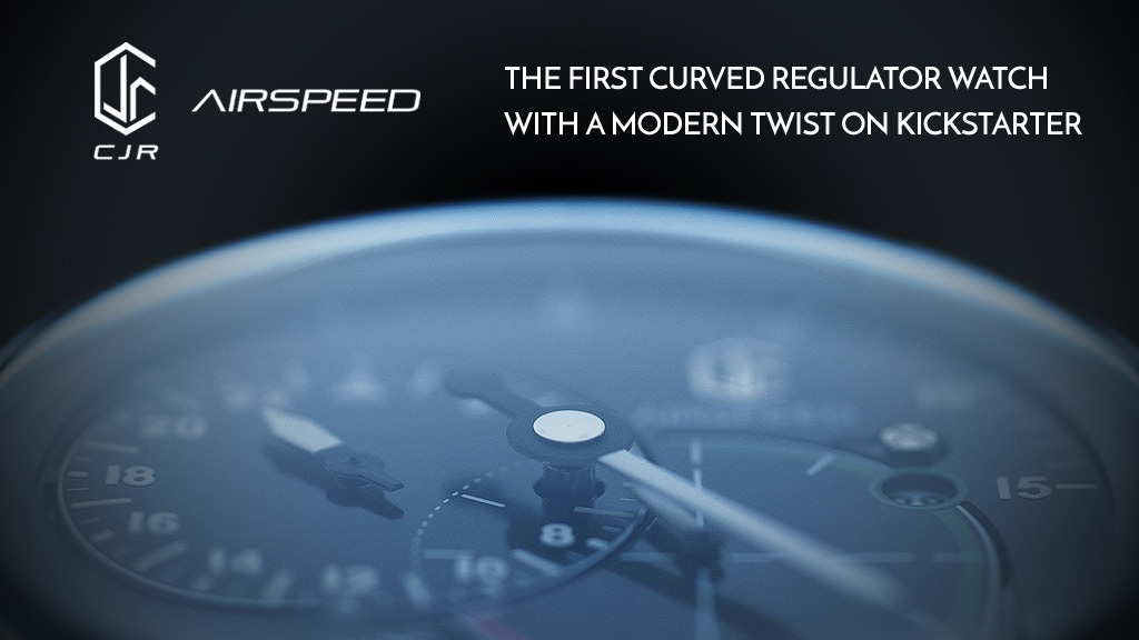 AIRSPEED: The FIRST Curved Regulator Watch For All project video thumbnail