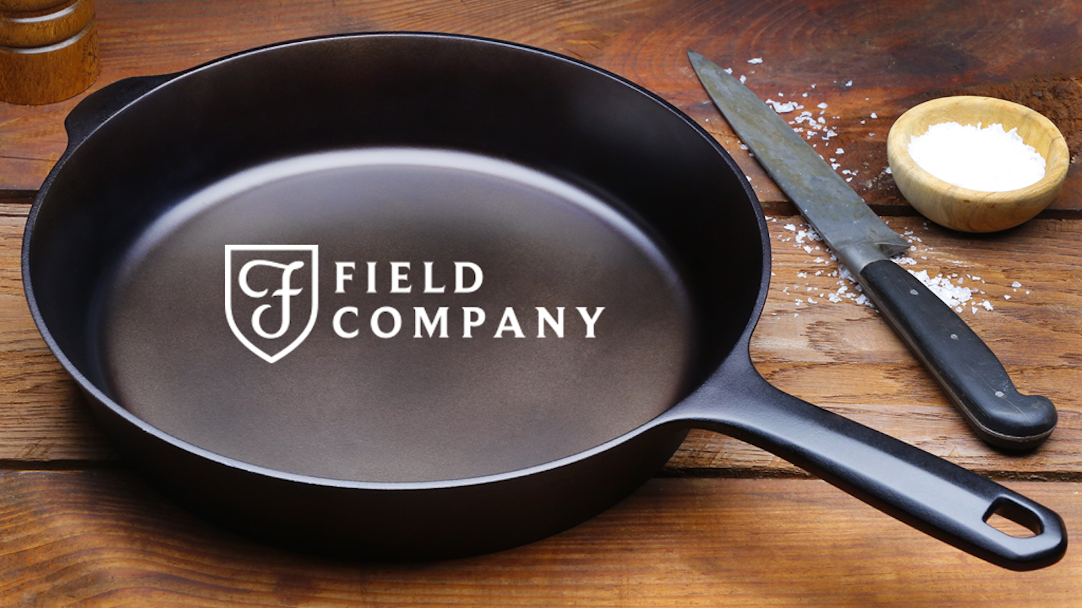 The Field Skillet: Lighter, Smoother Cast Iron by Field Company