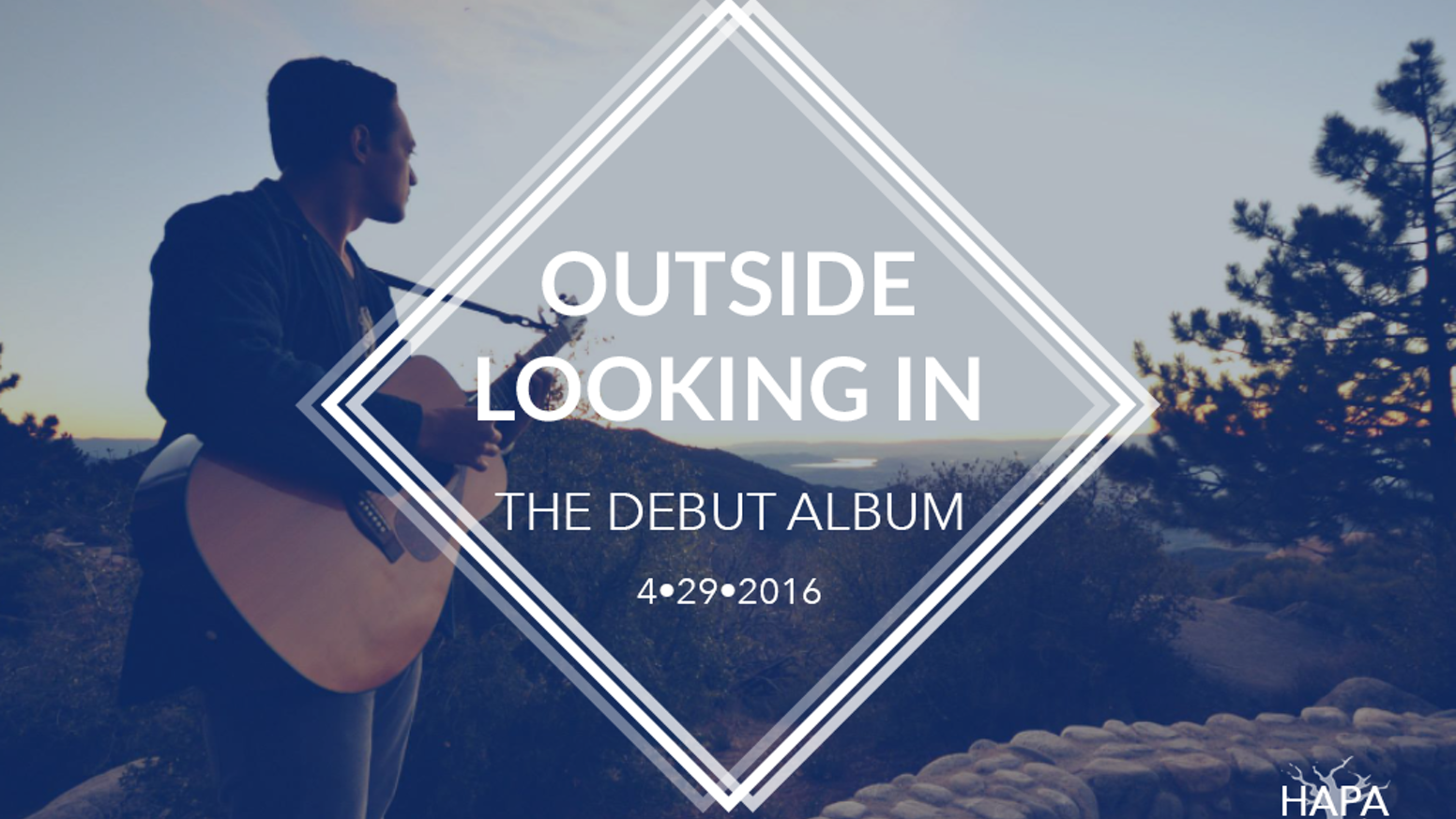 Every once in a while music comes along that showcases the soul of an artist. This is my debut album: Outside Looking In.