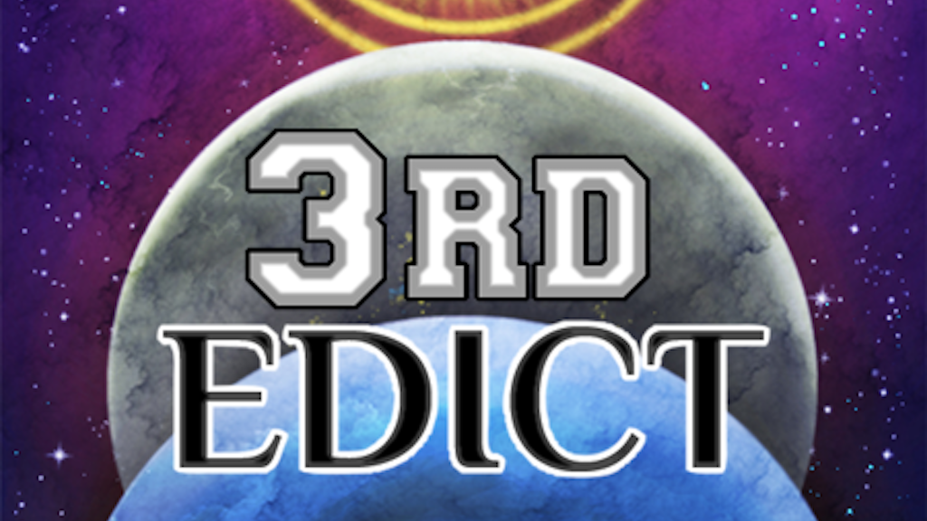 3RD EDICT - a new card game! project video thumbnail