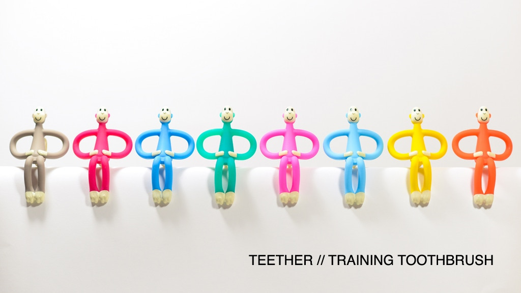 Matchstick Monkey - Baby Teether // Training Toothbrush project video thumbnail