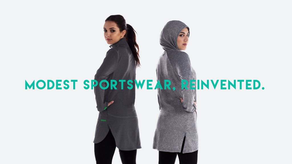Veil - The Future of Modest Sportswear project video thumbnail