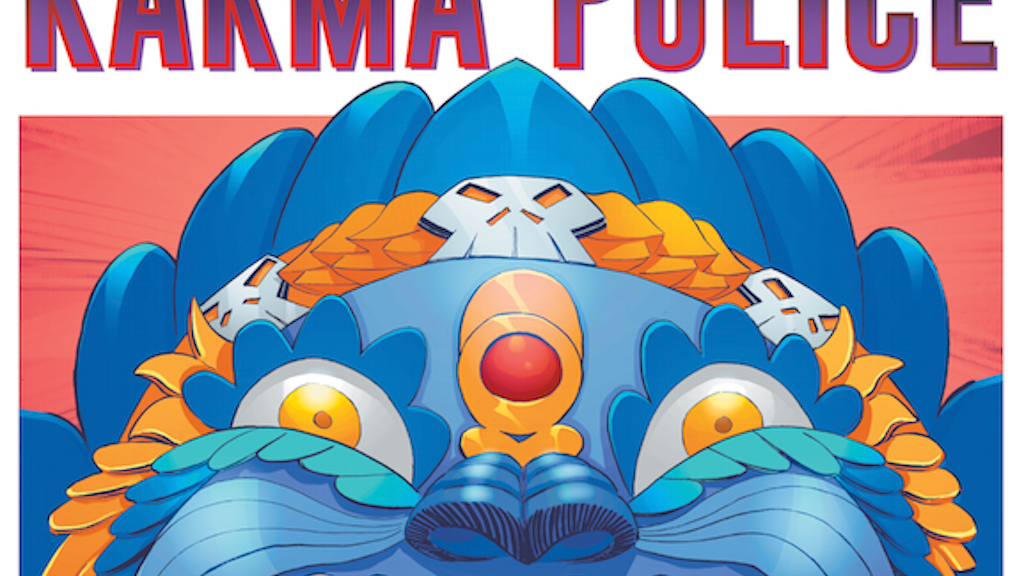 KARMA POLICE - Graphic Novel project video thumbnail