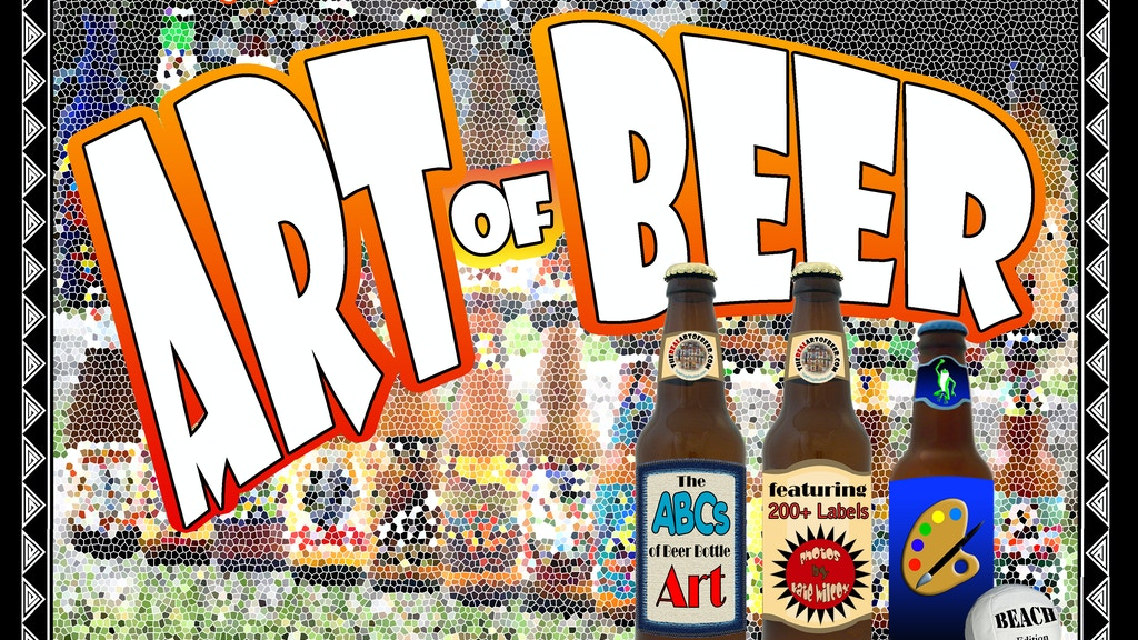 The Art of Beer: ABCs of Beer Bottle Art, Beach Edition project video thumbnail