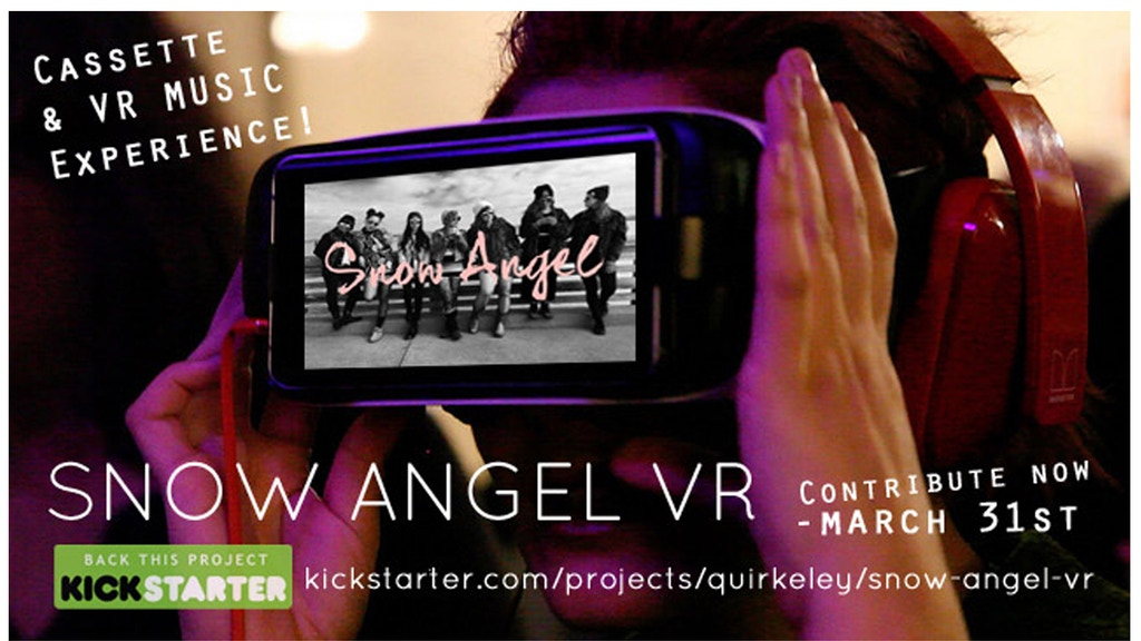Snow Angel VR project video thumbnail