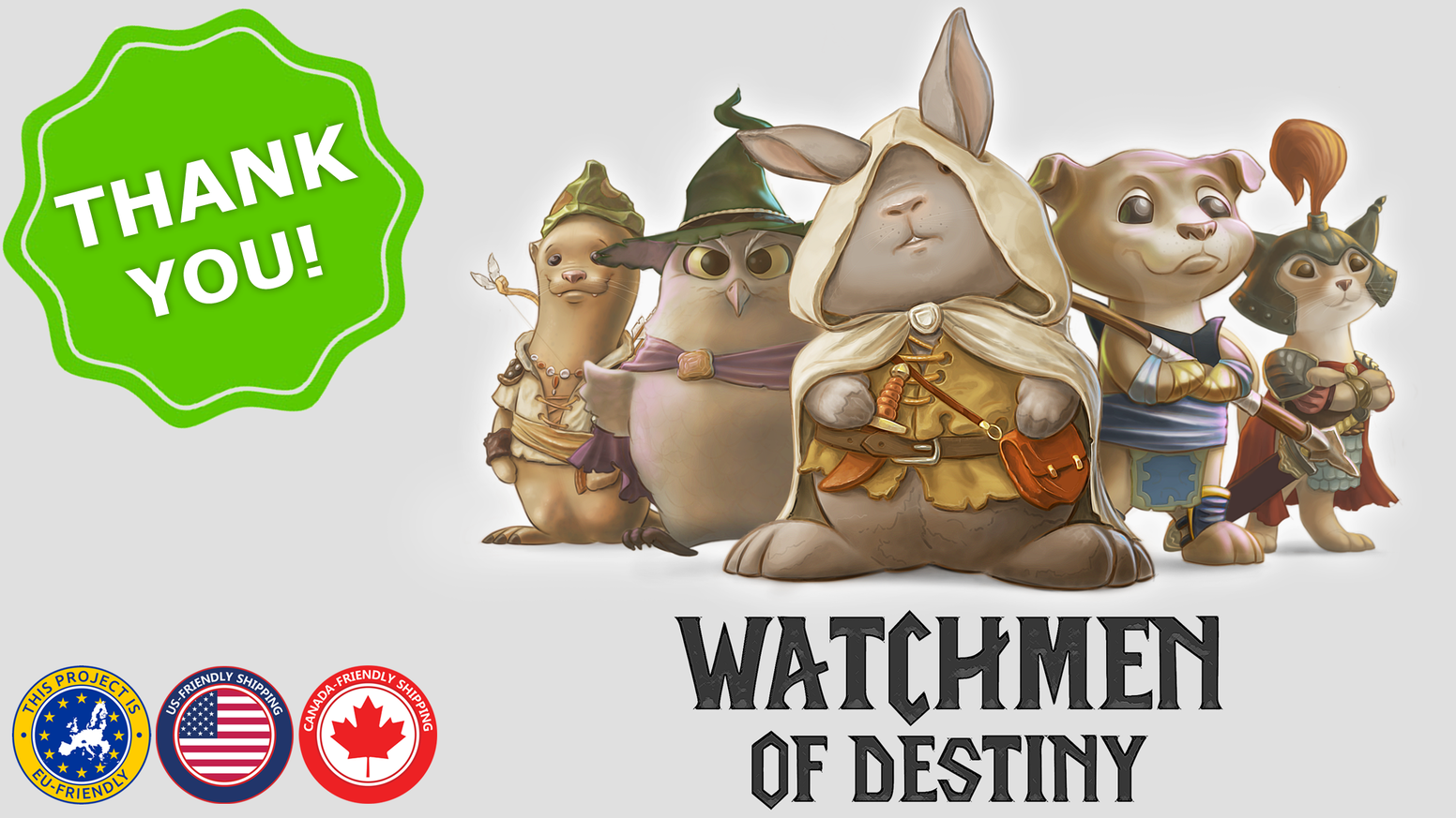Assembly a great army of watchmen & protect the Tree of Destiny. Use special abilities & make tough choices. Card game for 2-5 players.