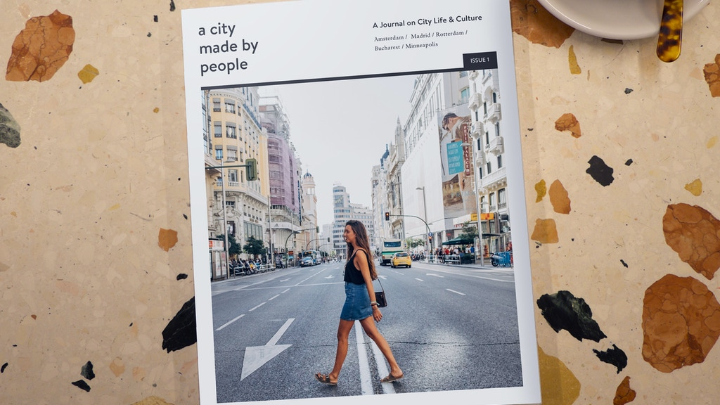 A City Made By People Journal - Giving Cities a Face project video thumbnail