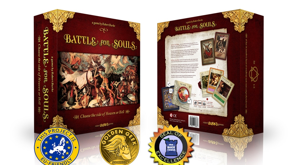 Battle For Souls: 2nd Edition & Expansion project video thumbnail