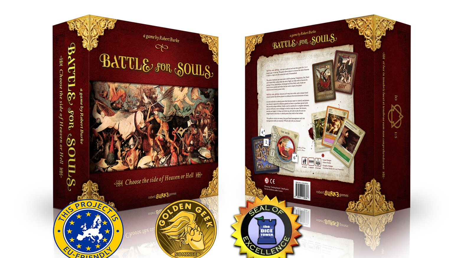 The critically acclaimed tabletop game Battle For Souls is expanded and improved in this upgraded 2nd edition!