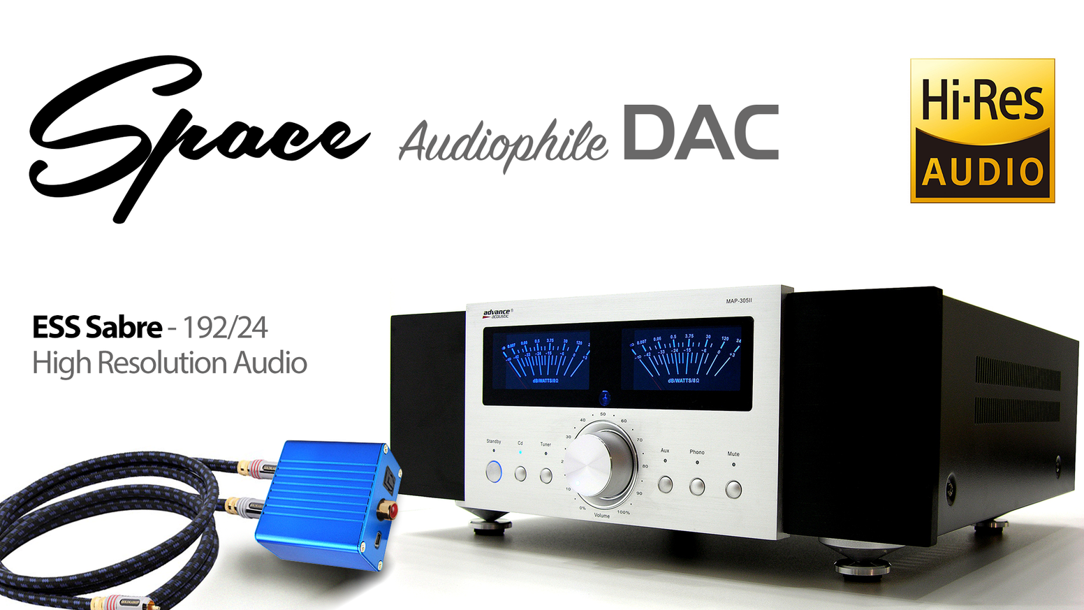 Audiophile DAC for all lovers of quality music!