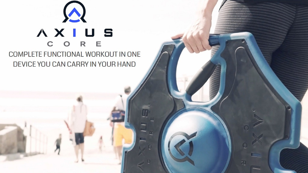 AXIUS: Functional Core, Balance and Mobility Training System project video thumbnail