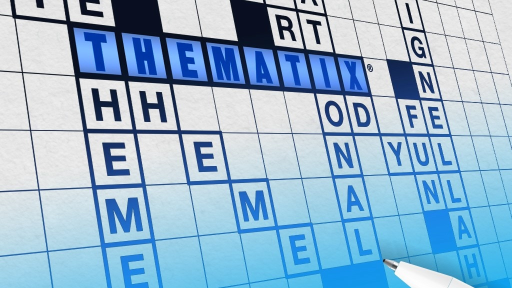 THEMATIX, the new generation in word games project video thumbnail