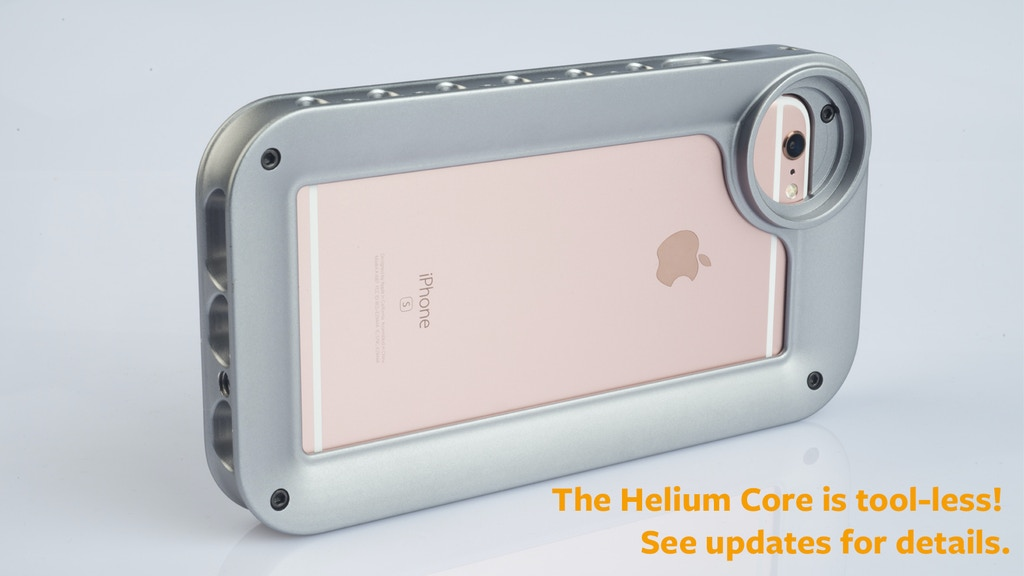 Helium Core - the basic building block for iPhoneography project video thumbnail