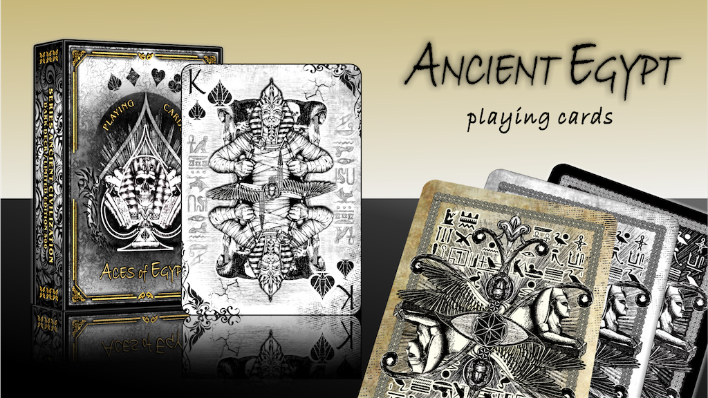 ANCIENT EGYPT - ART PLAYING CARDS project video thumbnail