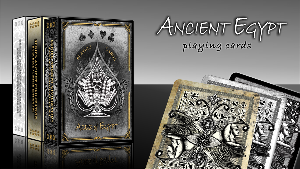 ANCIENT EGYPT - ART PLAYING CARDS