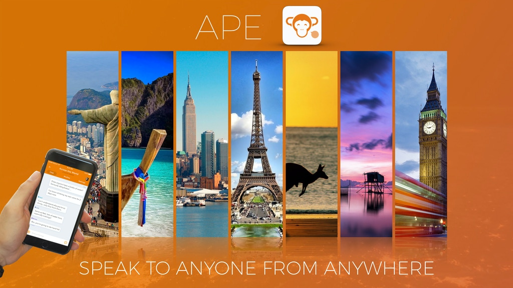 APE -The new social network. Global, Sexless & Different project video thumbnail