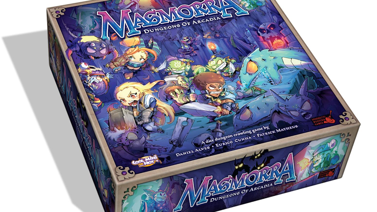 Masmorra Dungeons Of Arcadia By Cmon Kickstarter