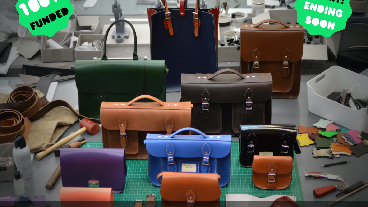 4643617a3 You'll have infinite choices designing your own handmade leather bag. Help  the UKs